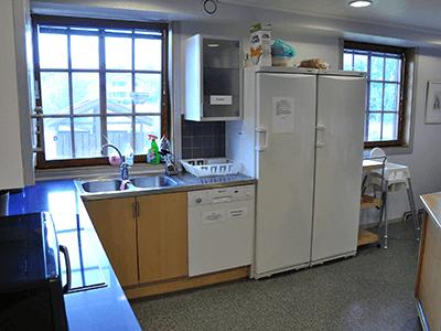Kök hos Vimmerby Vandrarhem