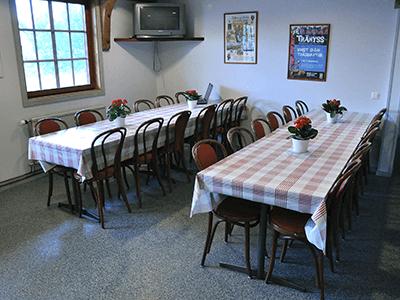 Matplats hos Vimmerby Vandrarhem