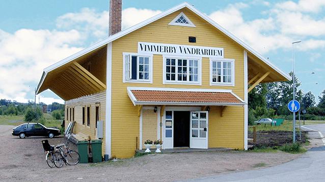 Vimmerby Vandrarhem - framsidan