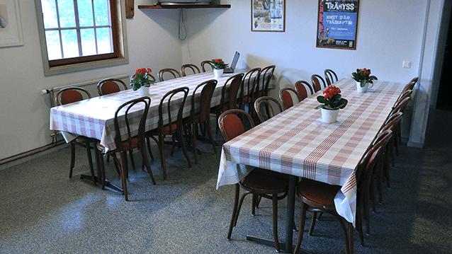 Del av kök Vimmerby Vandrarhem