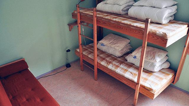 Del av rum på Vimmerby Vandrarhem
